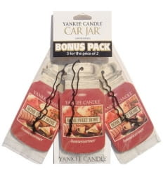 Car Jar Bonus Pack Home Sweet Home Op.- 3 Szt. - Yankee Candle
