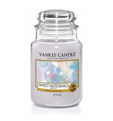 Sweet Nothings - Duży słoik - Yankee Candle
