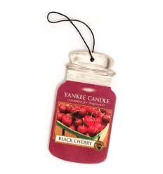 Car Jar Black Cherry - Yankee Candle