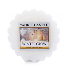 Winter Glow - Wosk - Yankee Candle