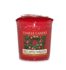 Red Apple Wreath - Sampler - Yankee Candle