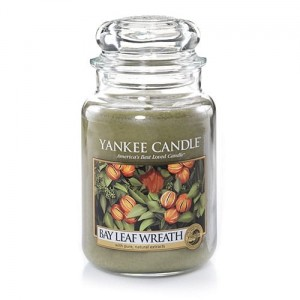 Bay Leaf Wreath - Duży słoik - Yankee Candle